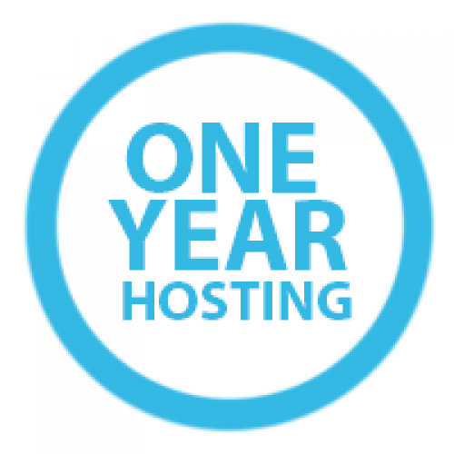 One year hosting