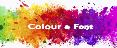colours and fonts matter for websites